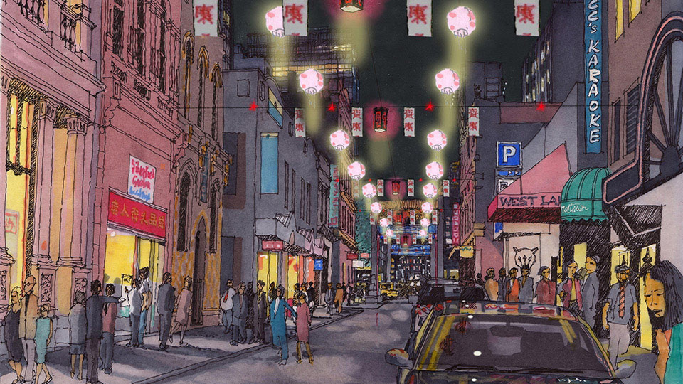 Fppv Project China Town Lighting